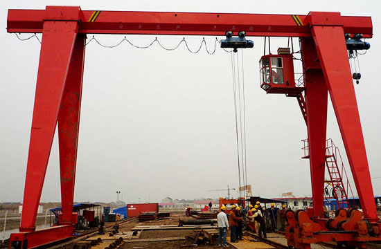 Single Girder 15 Ton Gantry Crane
