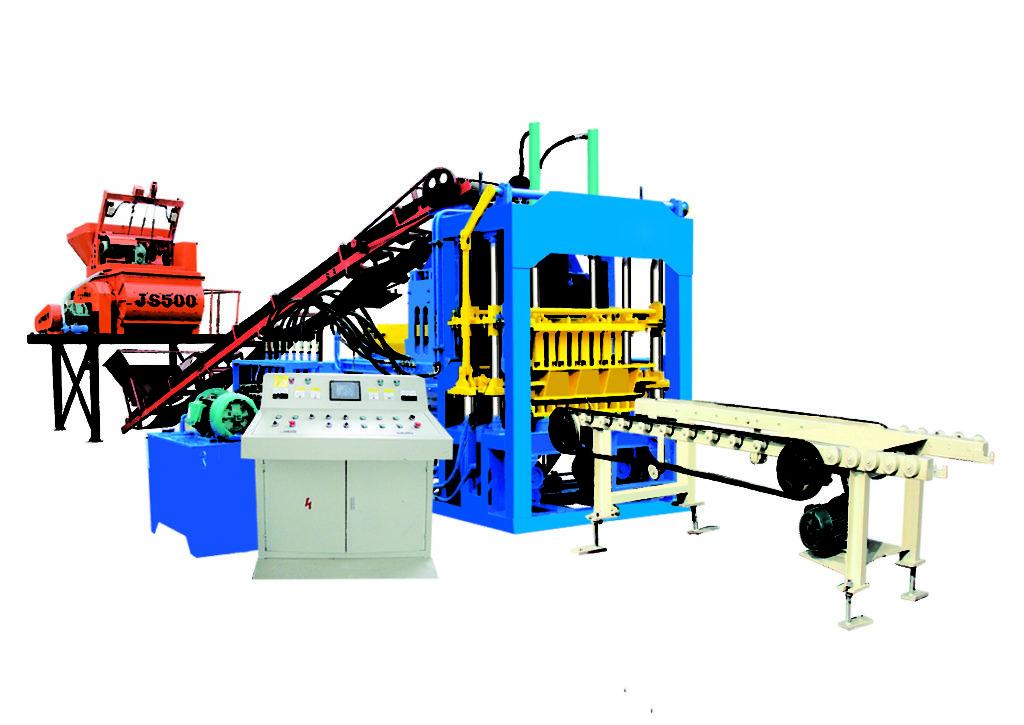 QT4-15D fully automatic brick making machine