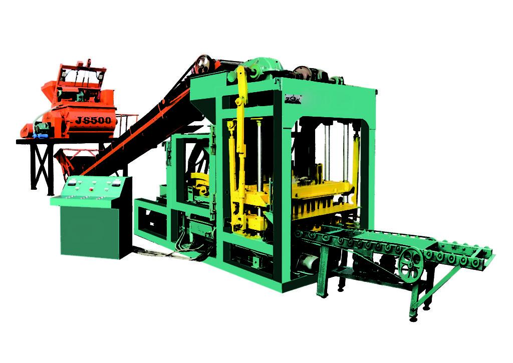 QTJ4-25 automatic brick and block machine